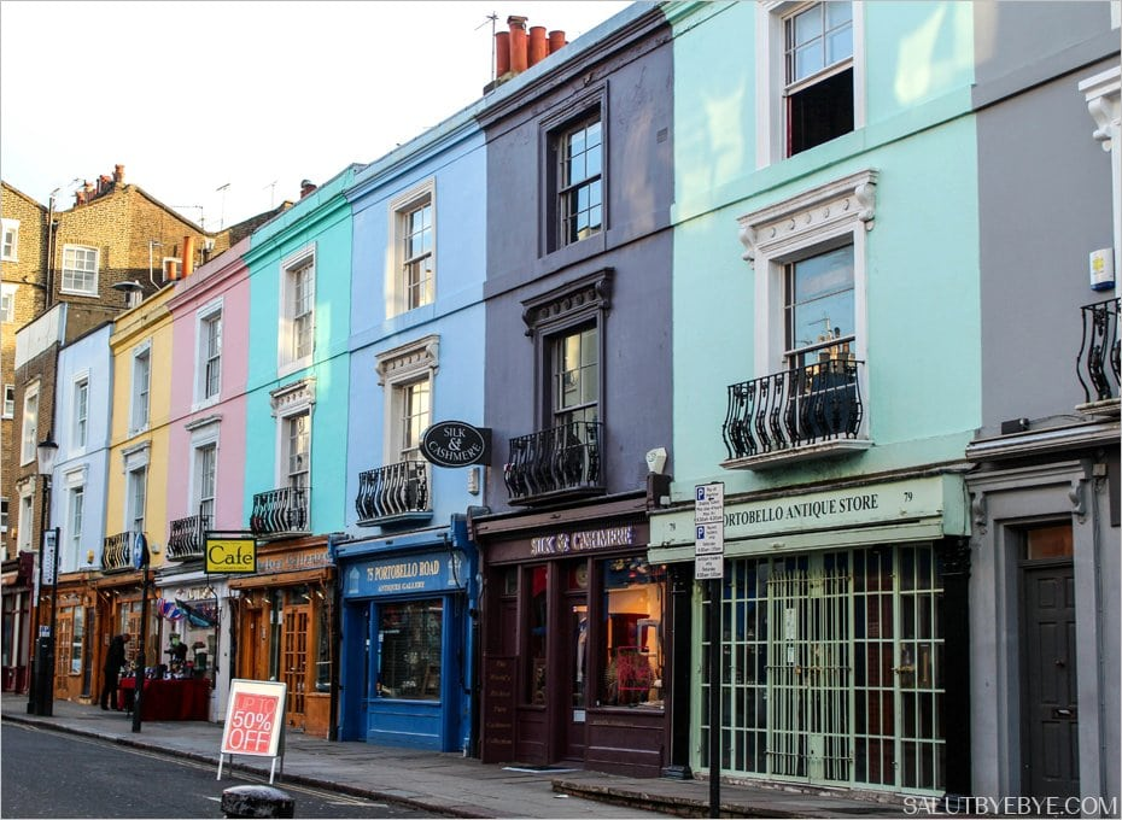 Portobello Road à Notting Hill