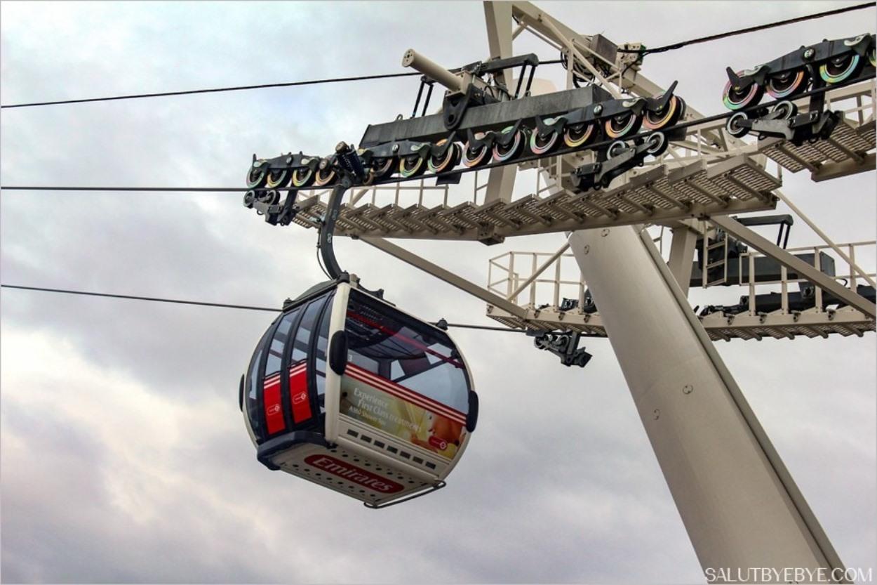 Téléphérique de Londres - Thames Cable Car