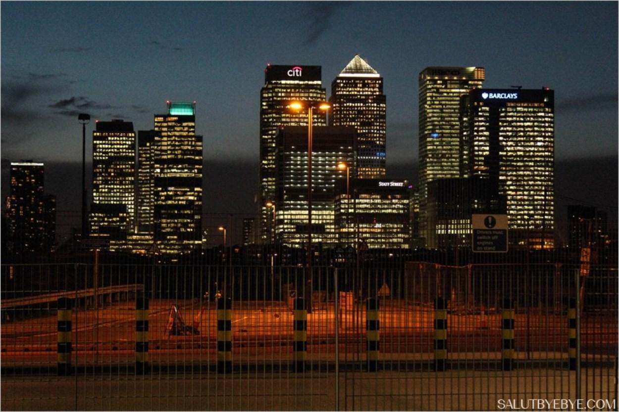 Canary Wharf à Londres