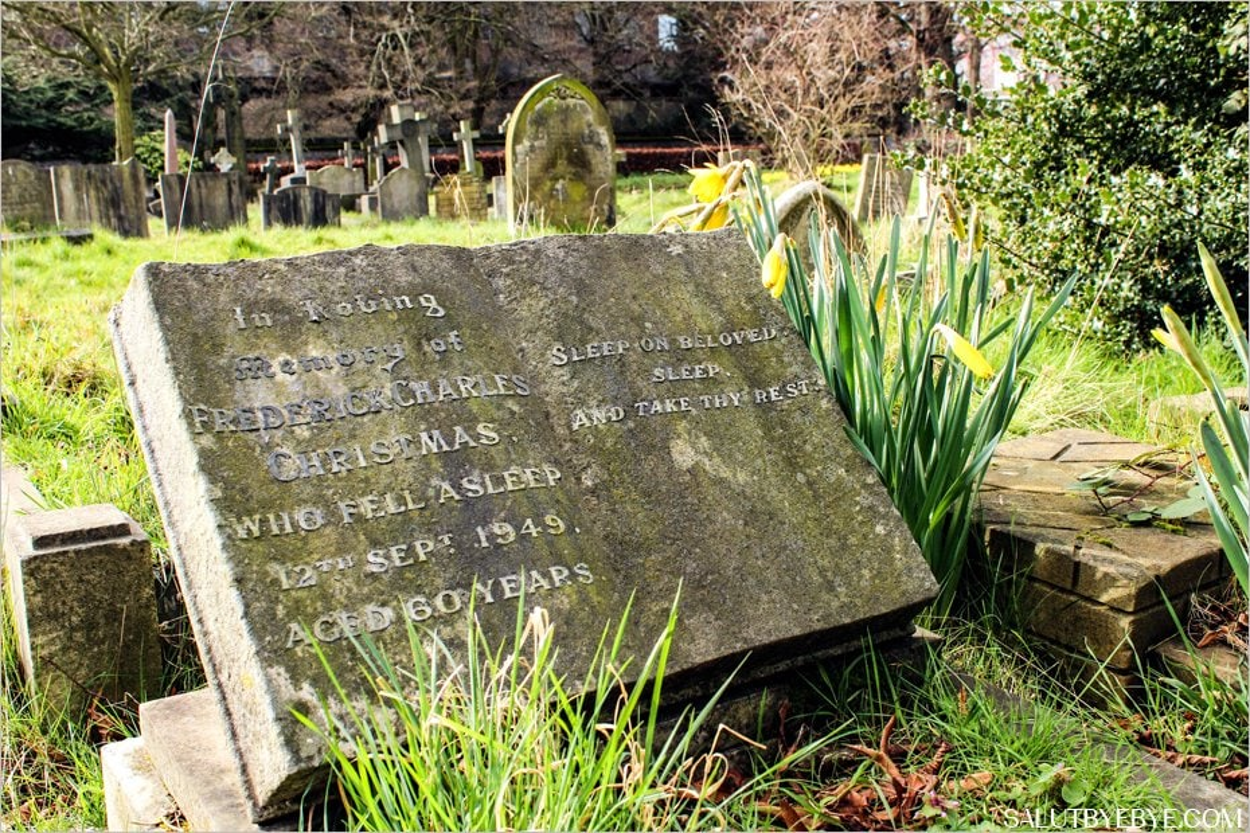 Une tombe au cimetière de Brompton à Londres
