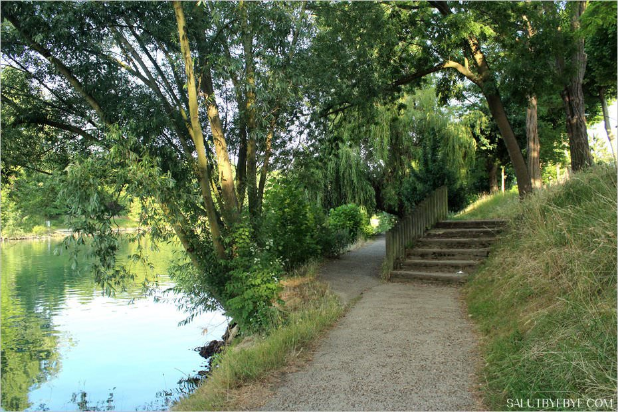 Sentier des Bords de Marne entre Champigny et La Varenne