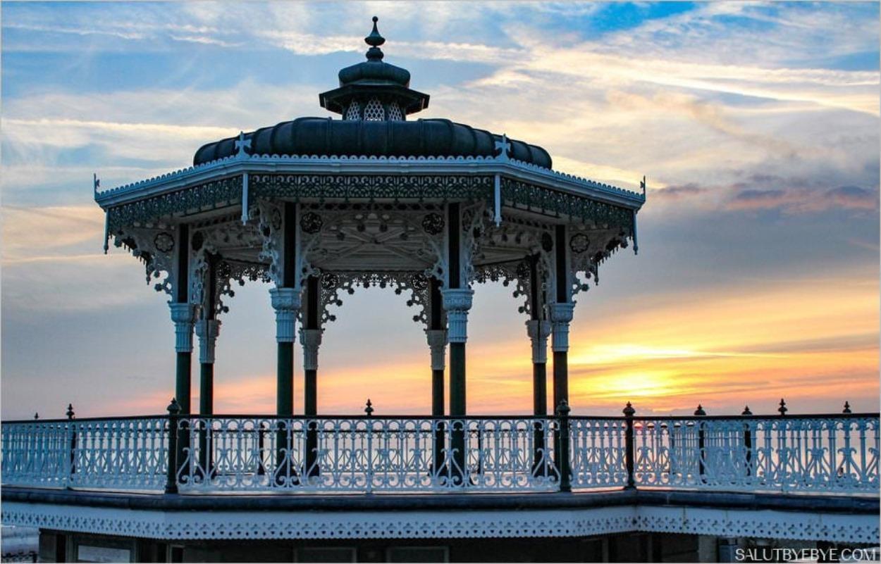 Le Brighton Bandstand en Angleterre
