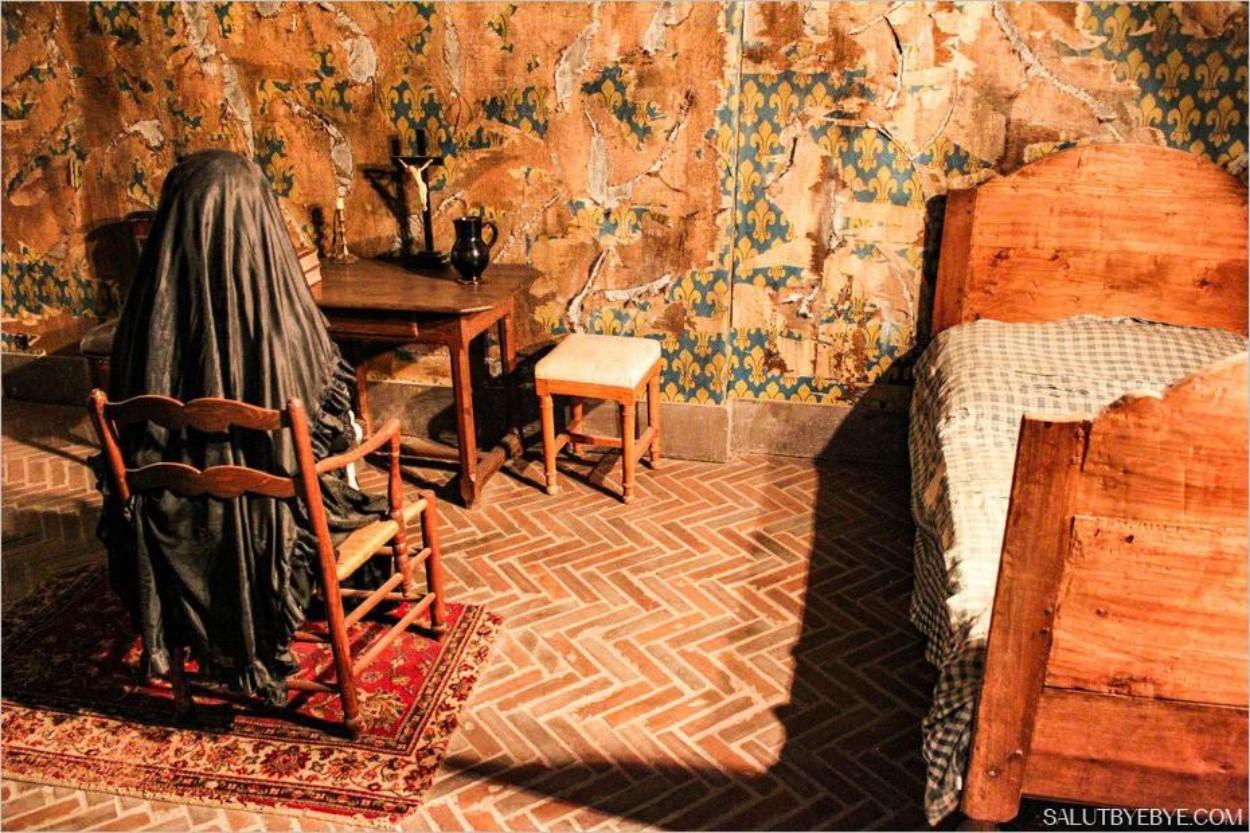 Cellule de Marie-Antoinette à la Conciergerie