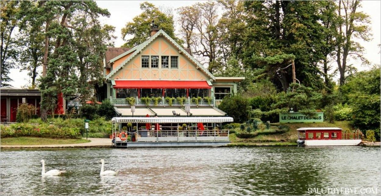 Le restaurant Le Chalet des Îles au Bois de Boulogne