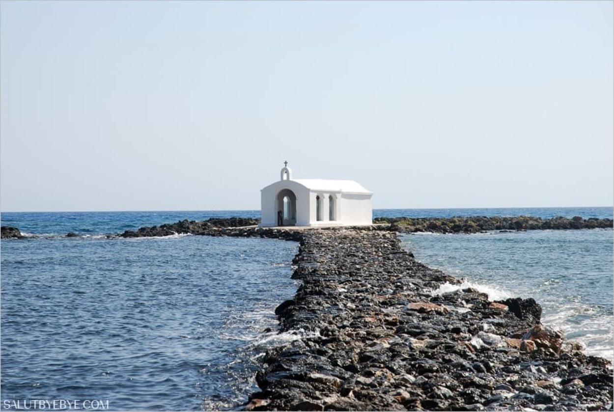 La Chapelle Saint-Nicolas de Georgioúpoli en Crète