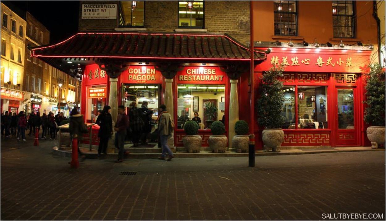 Un restaurant de Chinatown à Londres
