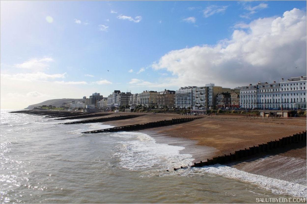 Les hôtels victoriens du bord de mer à Eastbourne, en Angleterre