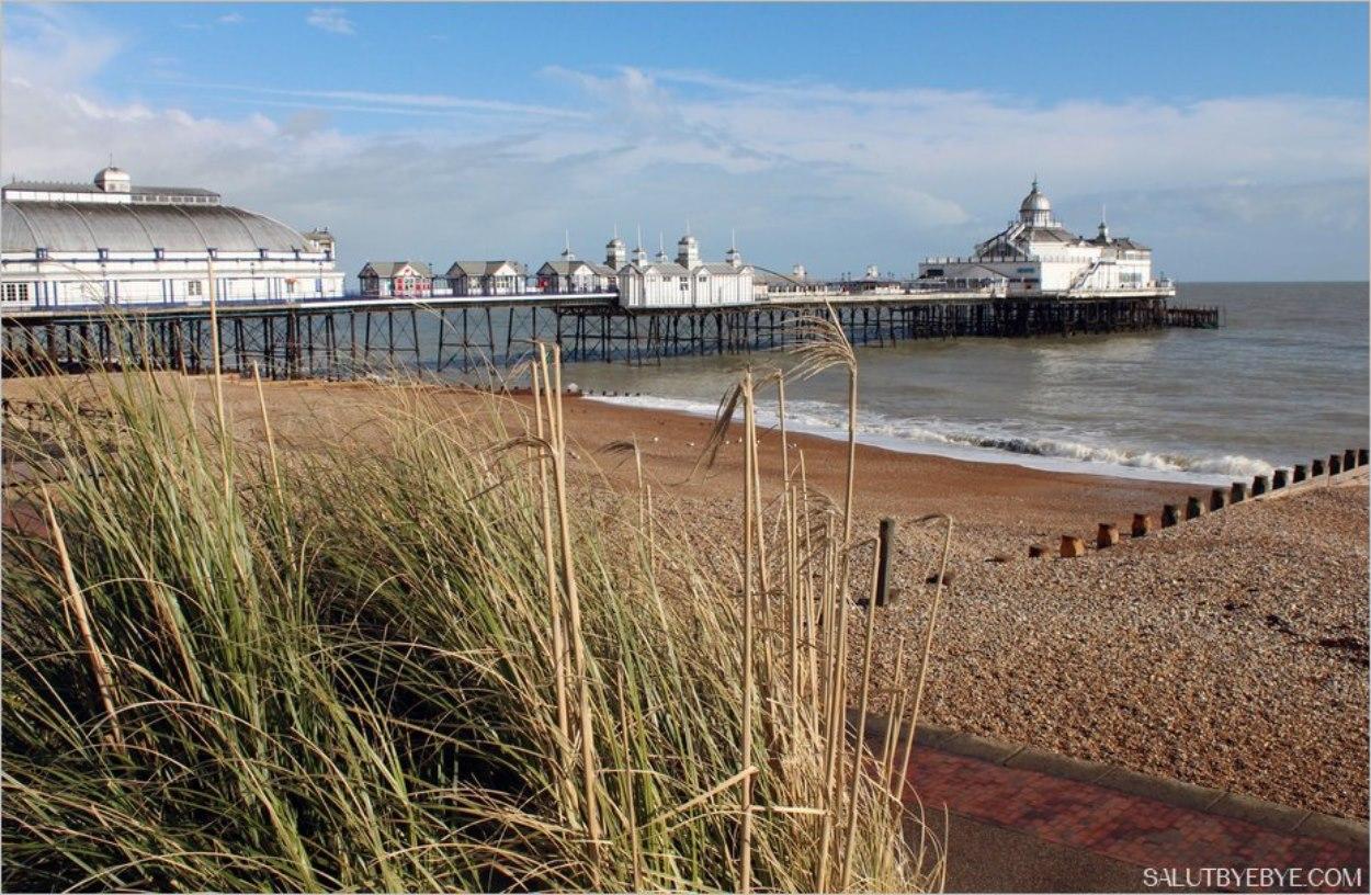 Eastbourne Pier en Angleterre