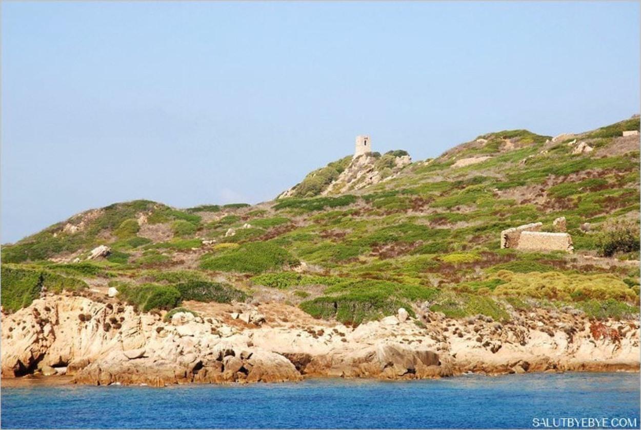 Iles Sanguinaires en Corse