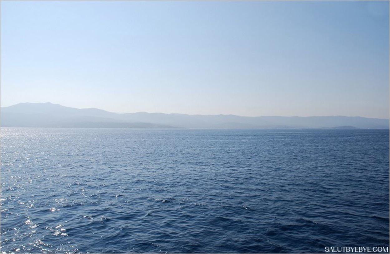 Visite des Iles Sanguinaires en Corse