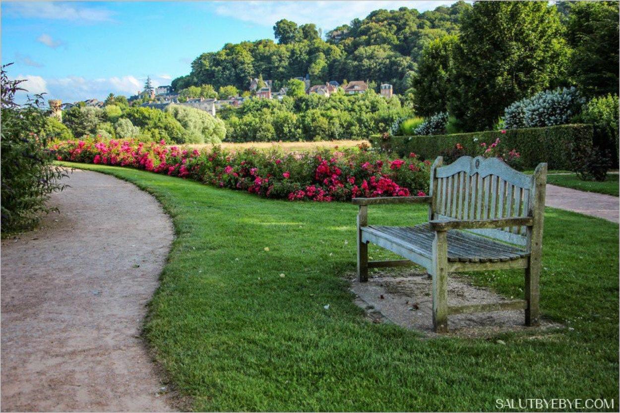 Le jardin des personnalit s honfleur un lieu magique for A propos du jardin