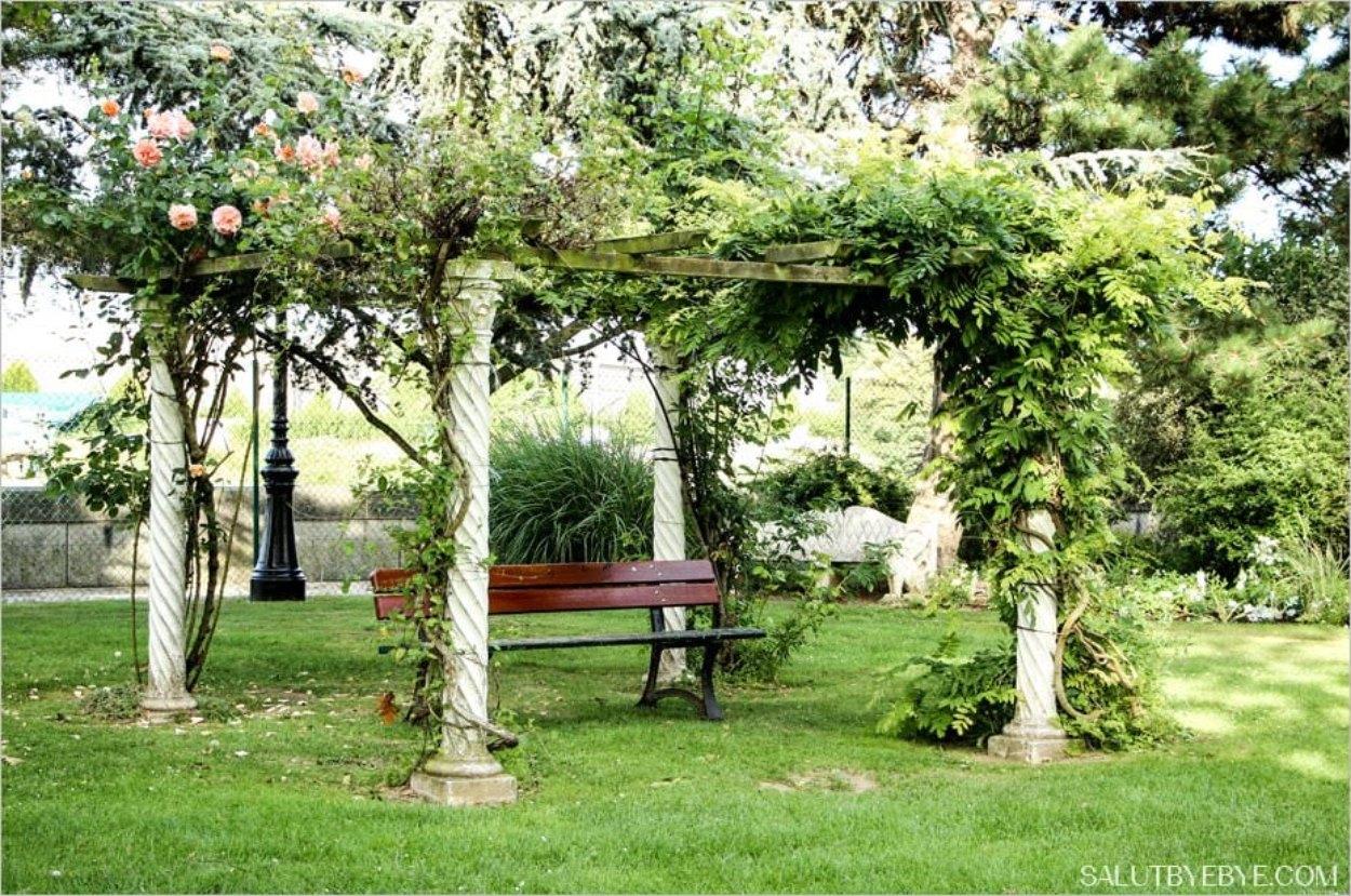 Le jardin des personnalit s honfleur un lieu magique - Petit jardin public nice ...