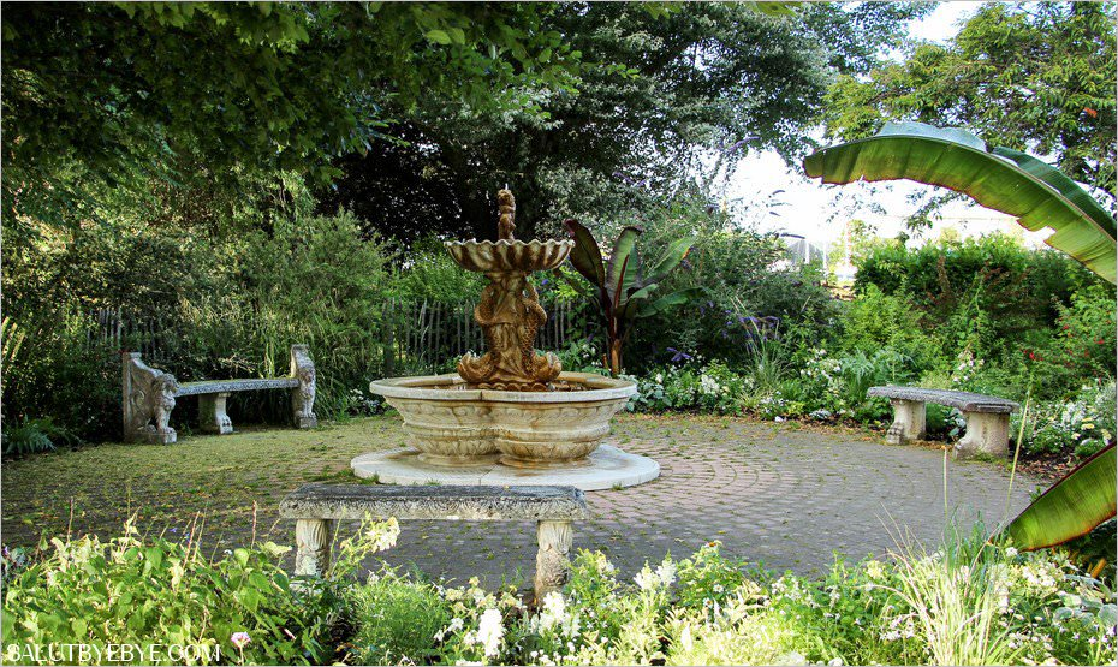 Le jardin public de Honfleur