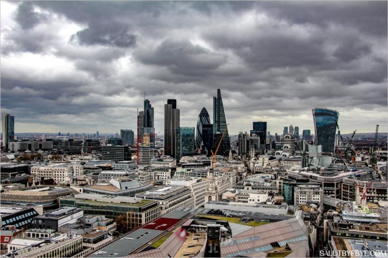 Londres sous la pluie
