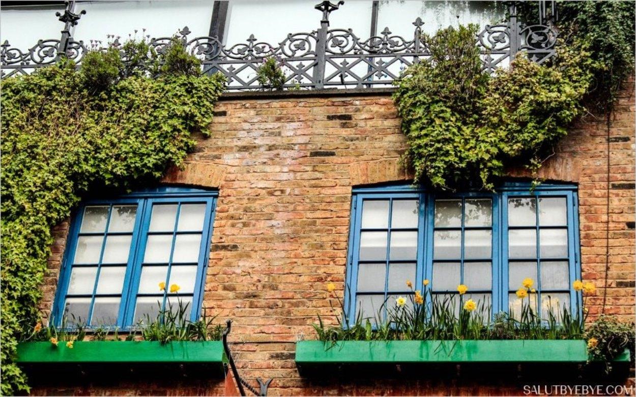 Neals Yard à Londres