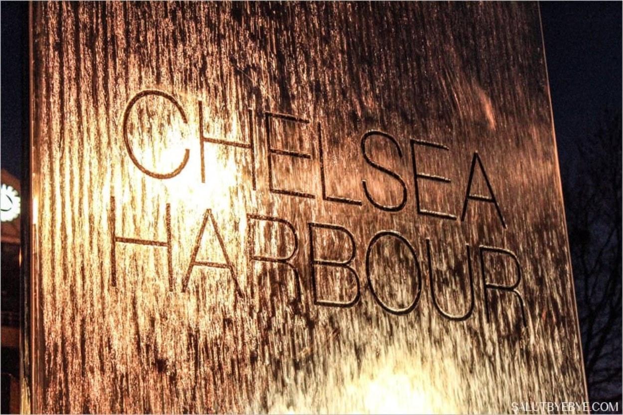 Le port de Chelsea à Londres