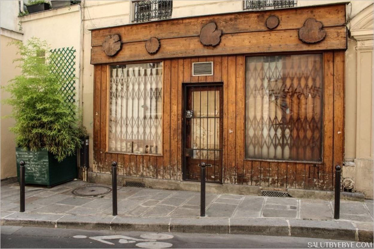 Le quartier du Sentier à Paris