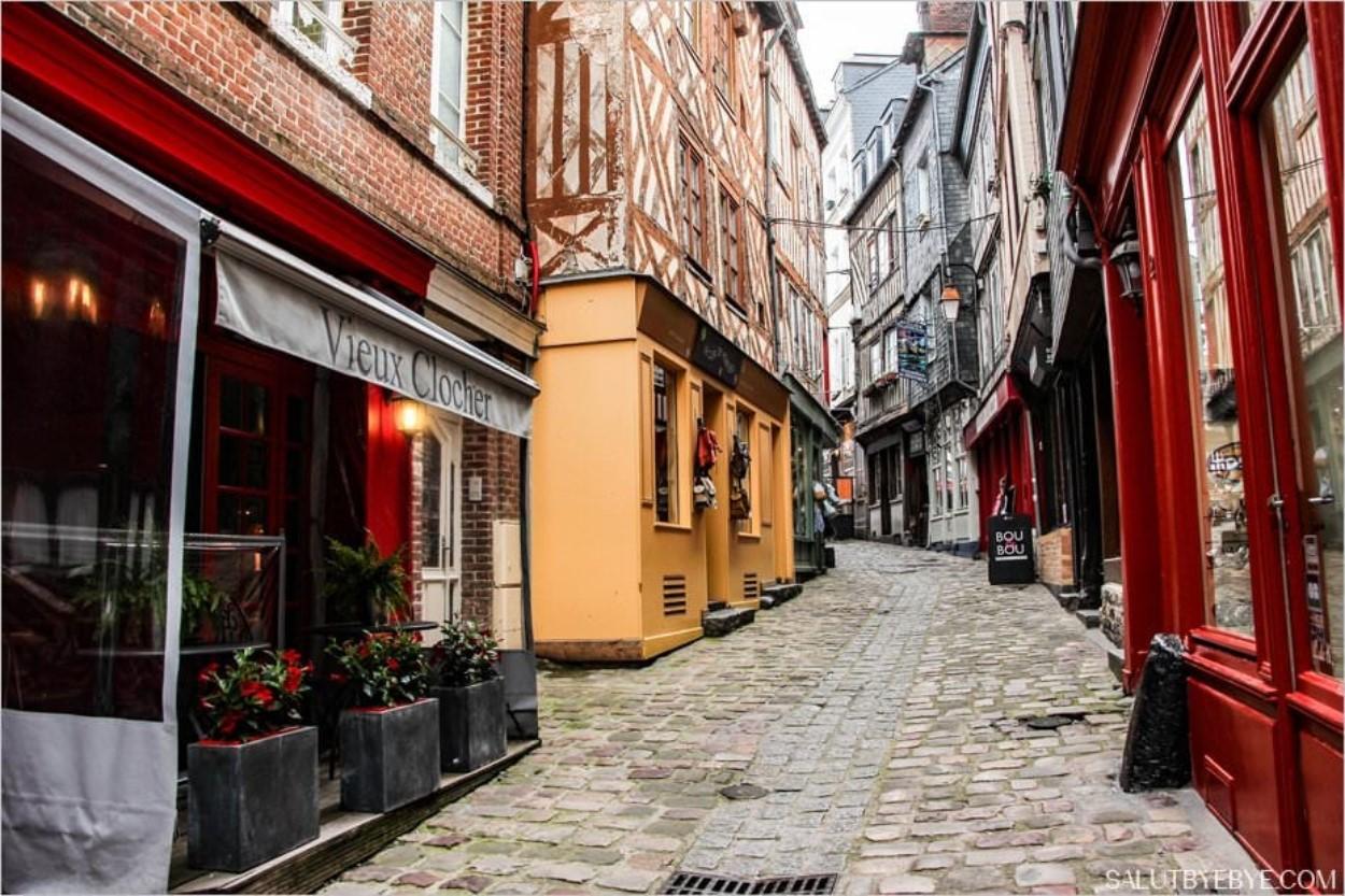Les rues du Vieux Honfleur