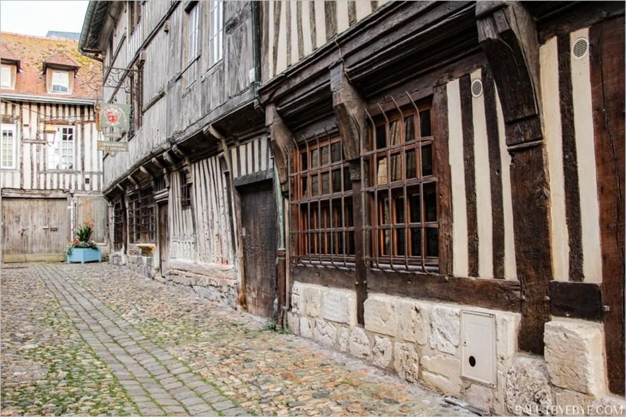 Rue de la Prison à Honfleur