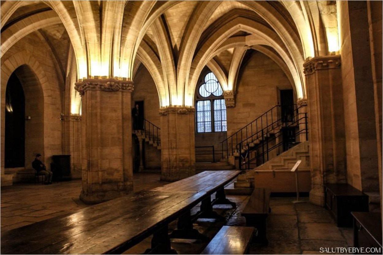 La Conciergerie de Paris - Salle des gardes