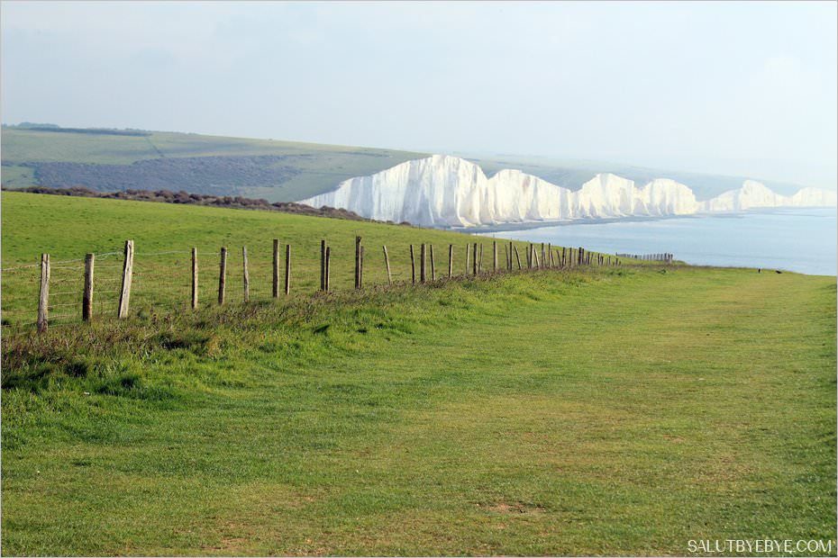 Le parc naturel de Seven Sisters dans le Sussex