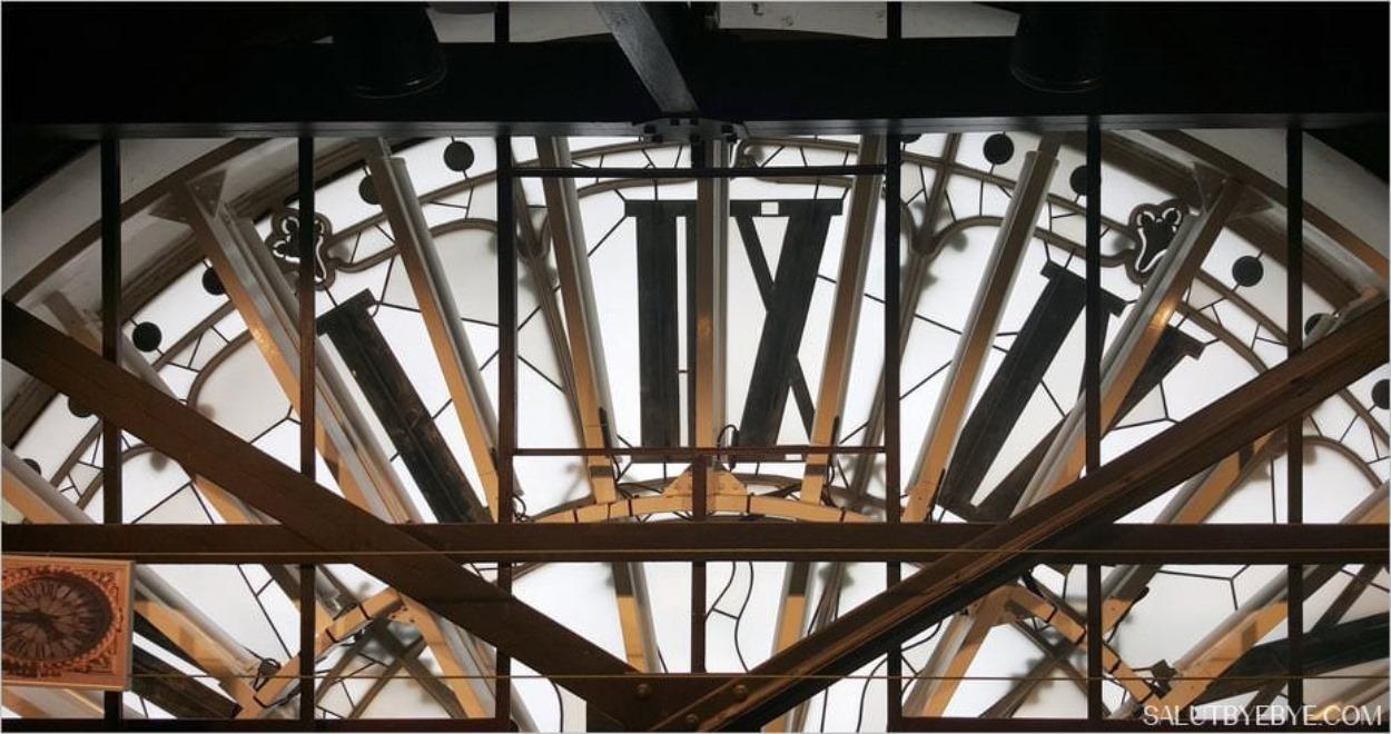 Tour de l'Horloge, Gare de Lyon - Derrière le cadran