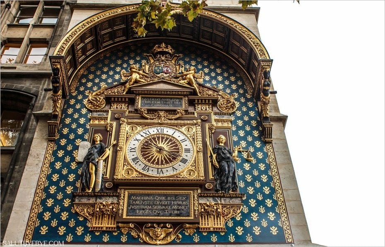 La Tour de l'Horloge - Palais de la Cité, Paris