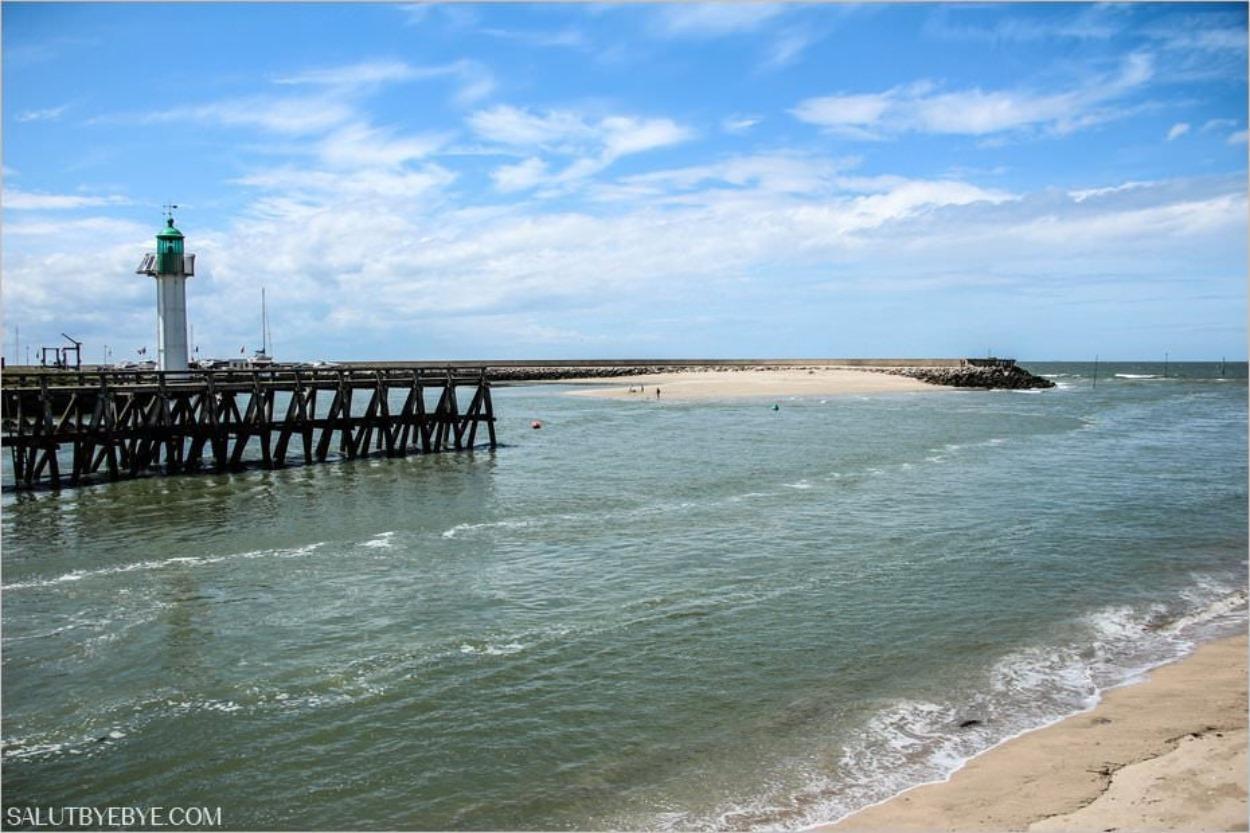 Le chenal de Trouville-sur-Mer