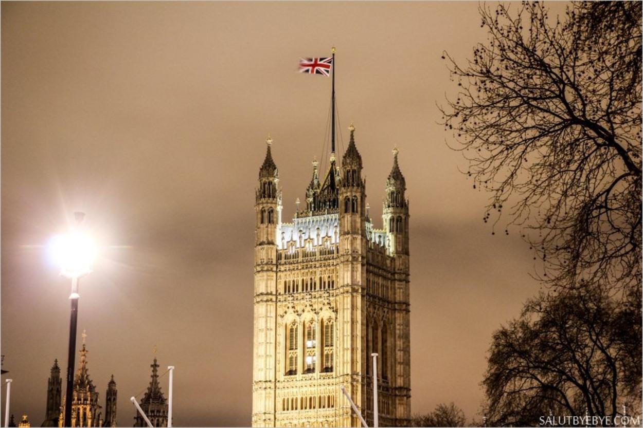 La Tour Victoria, siège du greffe de la Chambre des Lords