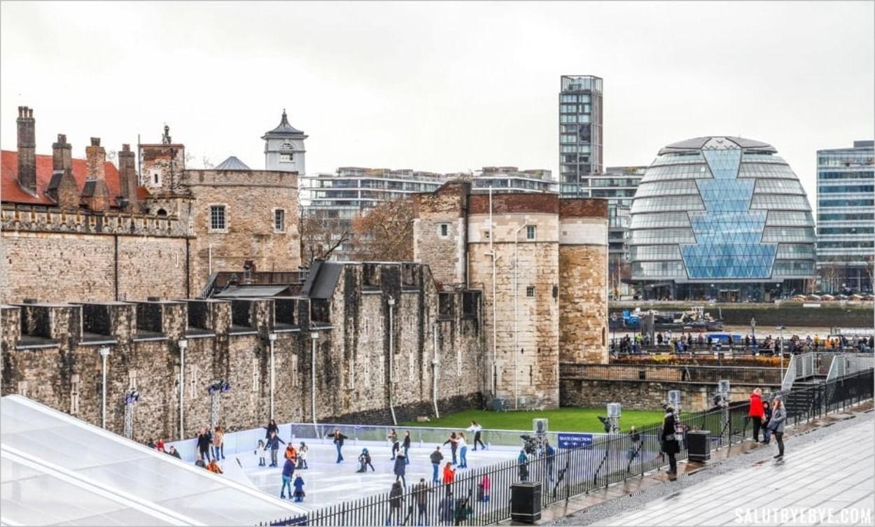 Patinoire de la Tour de Londres