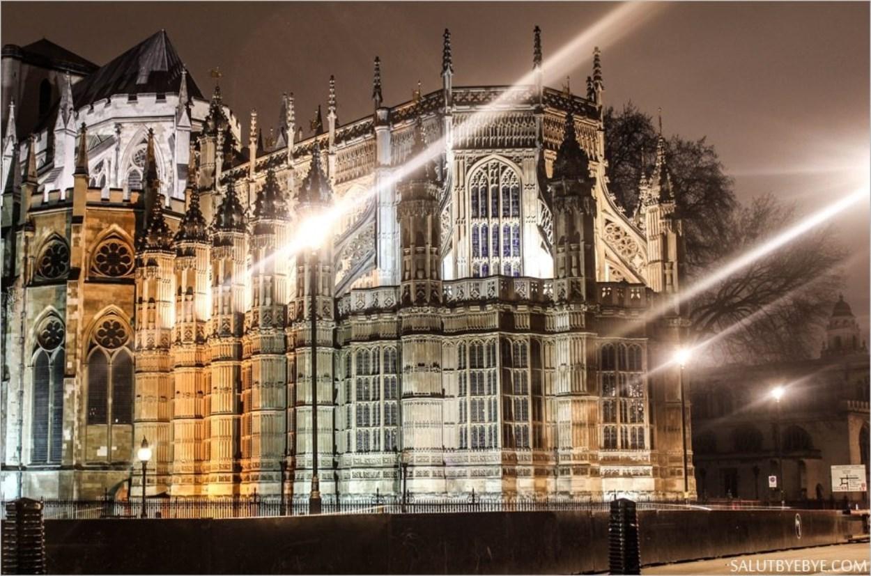 Westminster Abbey côté Abingdon Street