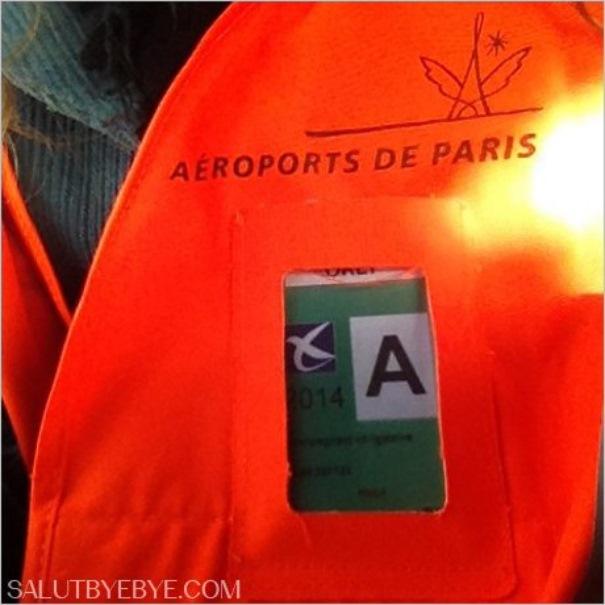 Zone réservée de l'aéroport d'Orly - Badges