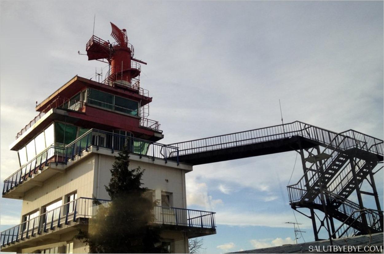 Ancienne tour de contrôle de l'aéroport d'Orly