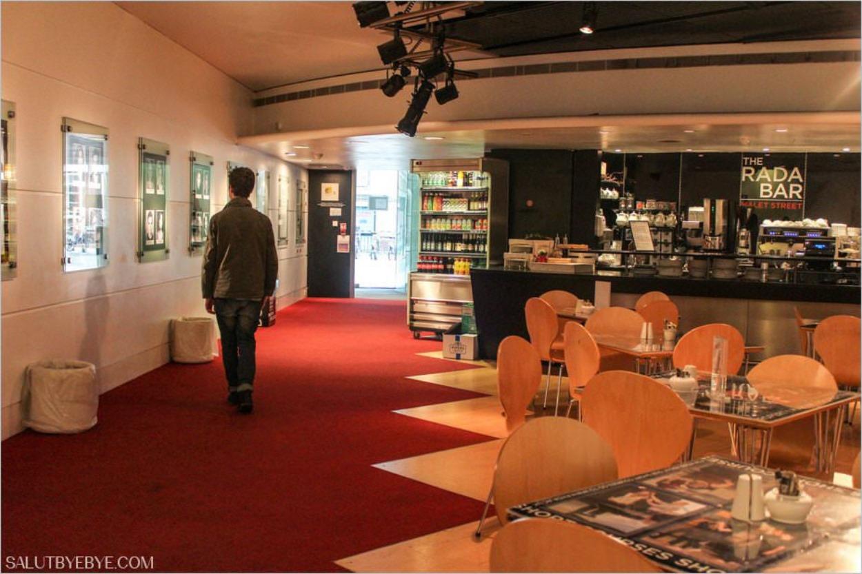 Le bar de la Royal Academy of Dramatic Art à Londres