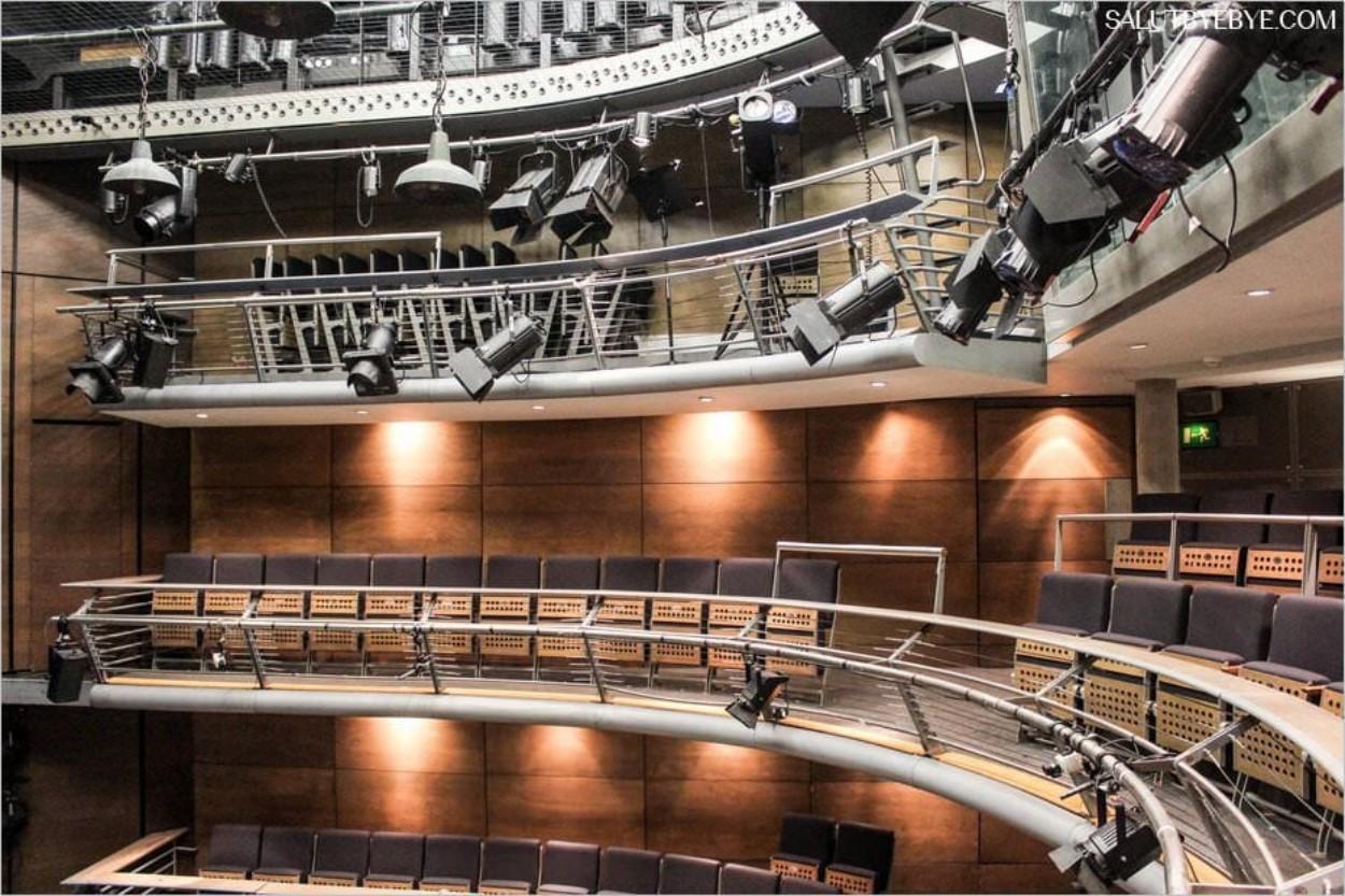 Le théâtre Jerwood Vanbrugh à la Royal Academy of Dramatic Art