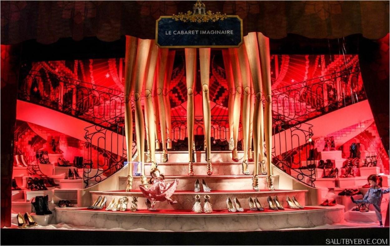 Vitrines de Noël 2016 au Printemps Haussmann - Le cabaret imaginaire