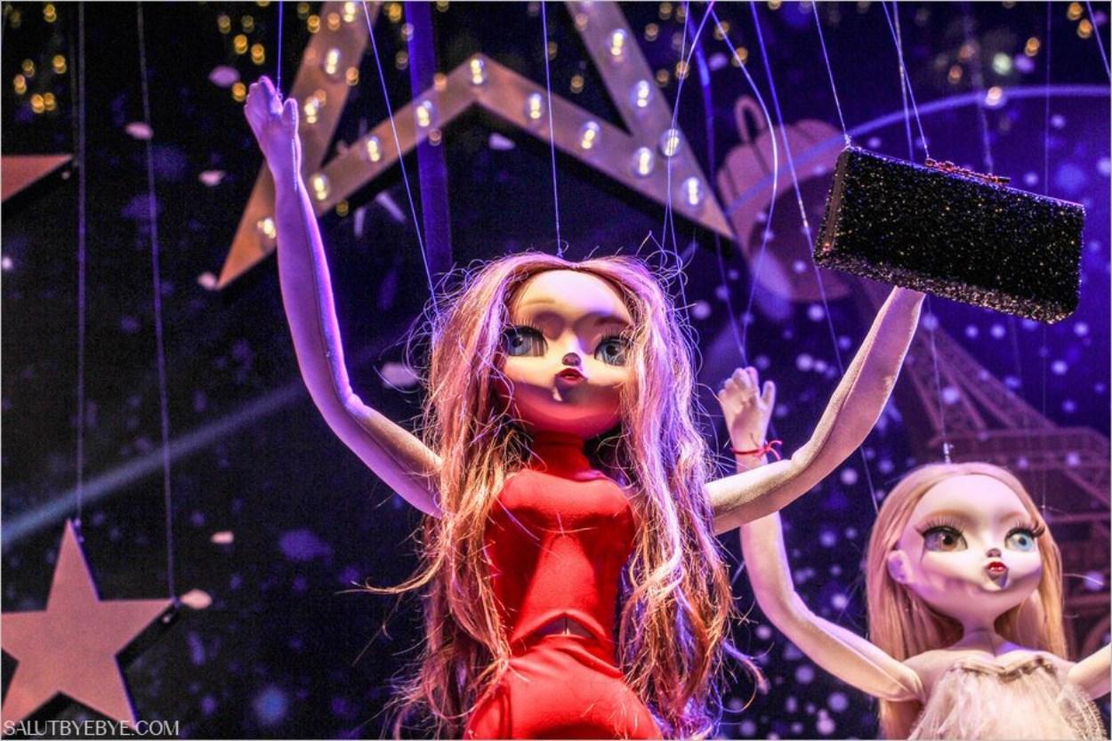 Vitrines de Noël 2016 au Printemps Haussmann