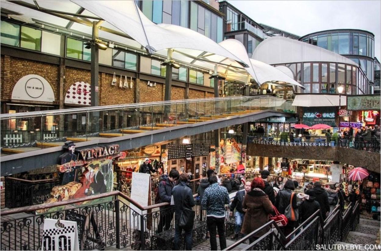 Camden town un quartier de londres plein de boutiques et d 39 nergie - Boutique vintage londres ...