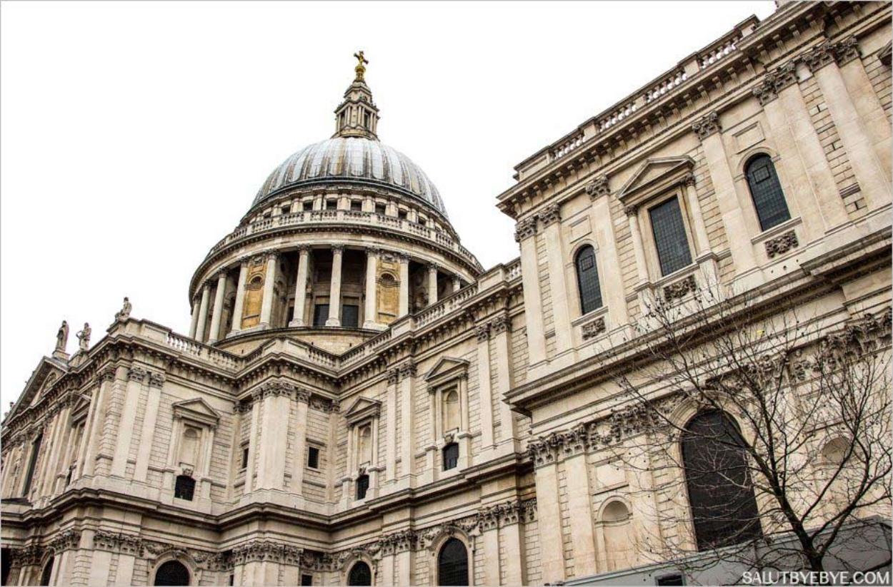 La cathédrale Saint Paul et son célèbre dôme