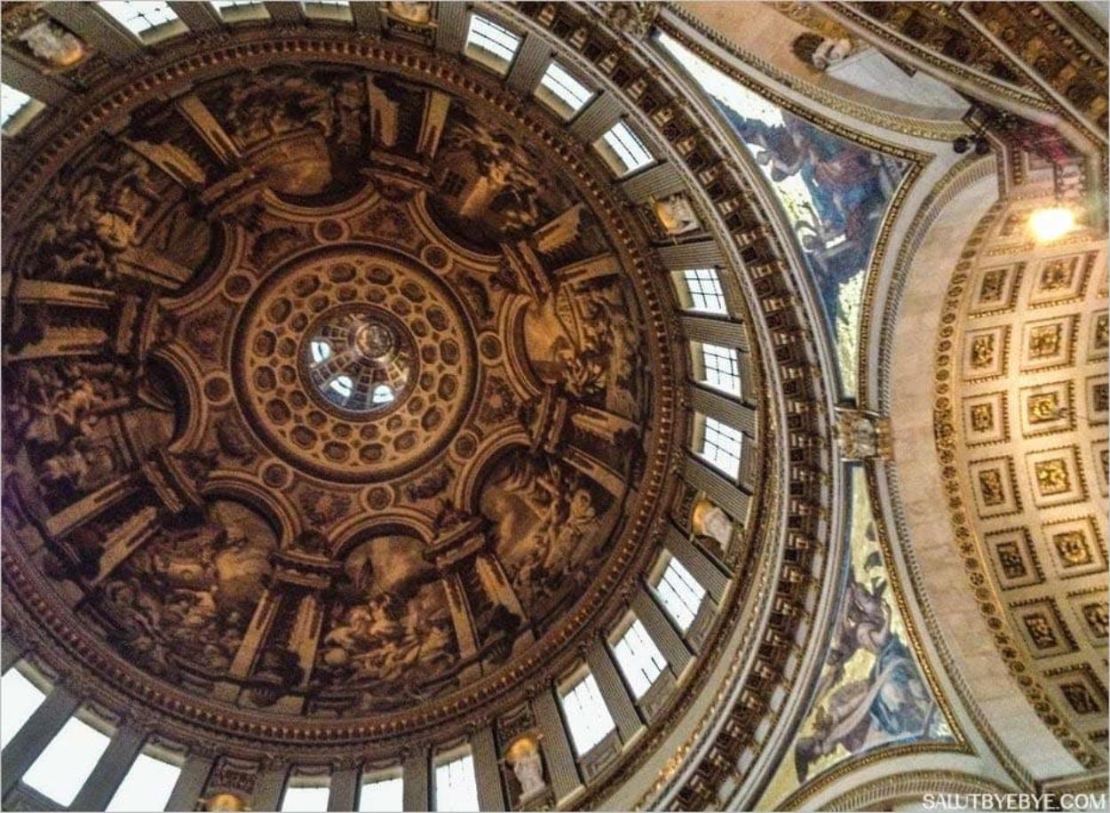 L'intérieur de la Cathédrale Saint Paul de Londres