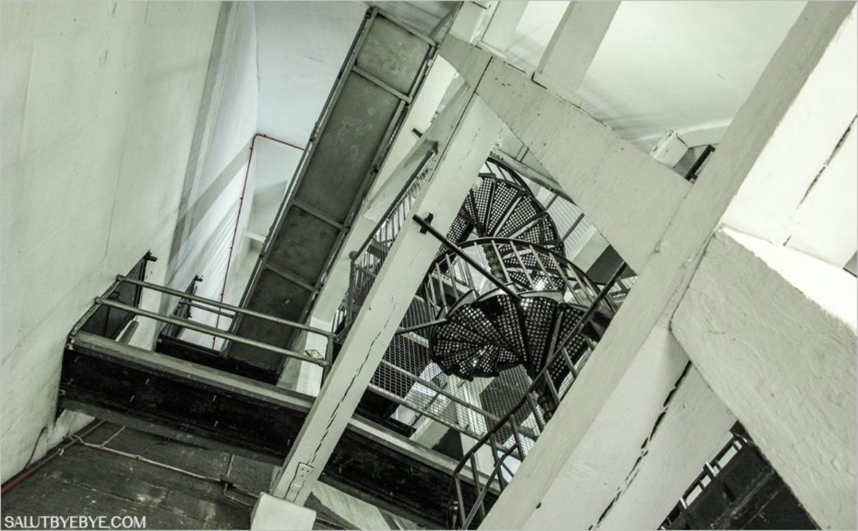 Les escaliers du dôme de Saint Paul à Londres