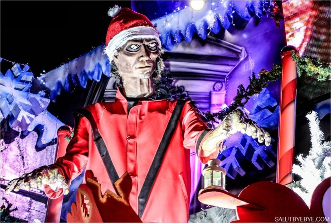 Le Zombie Michael Jackson de Noël, une espèce rare