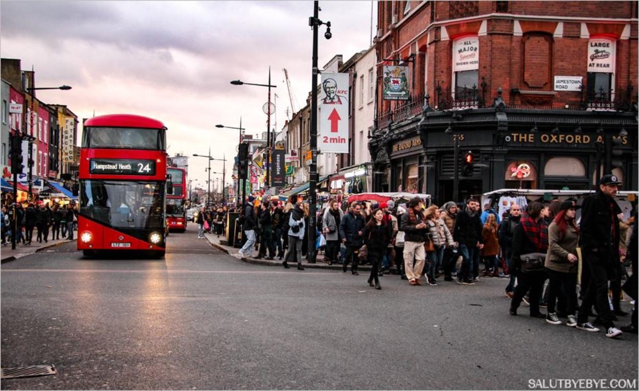 Camden le week-end : la foule, la foule, la foule !