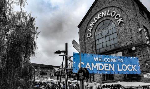 Le marché de Camden Town, au cœur d'un quartier qui déborde d'énergie !