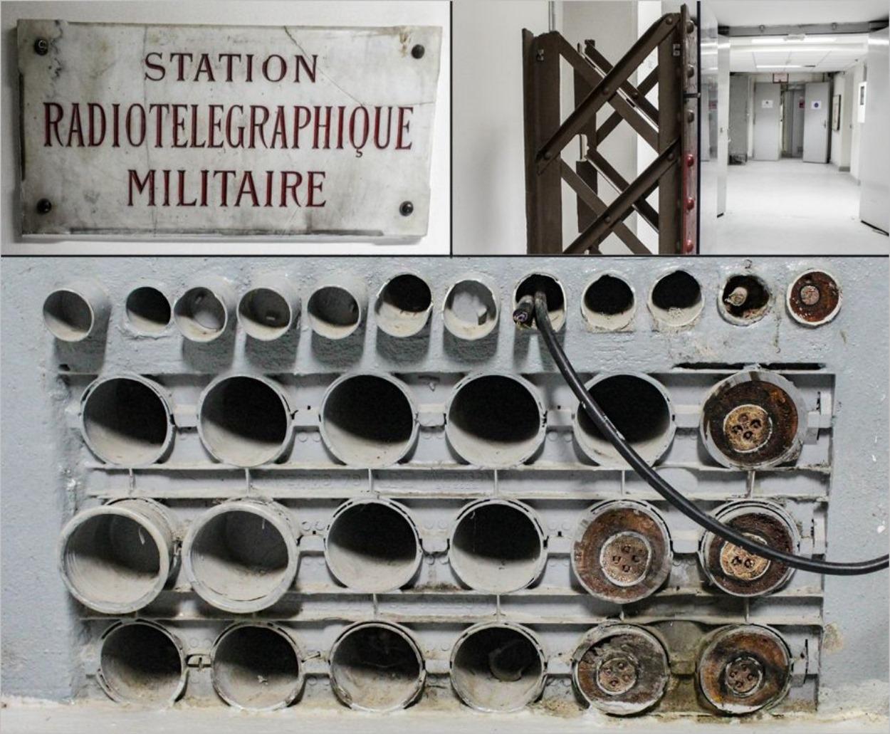La station radiotélégraphique de la Tour Eiffel
