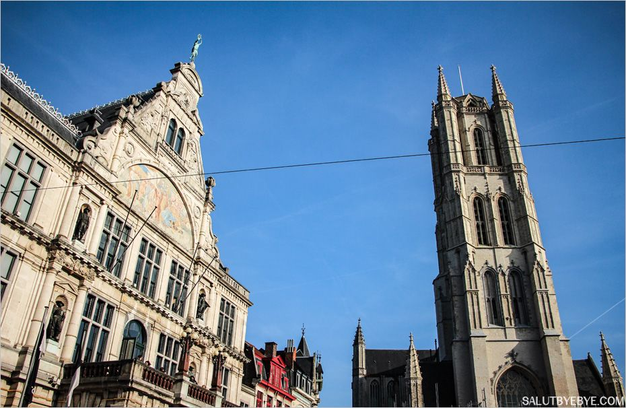Cathédrale Saint Bavon à Gand
