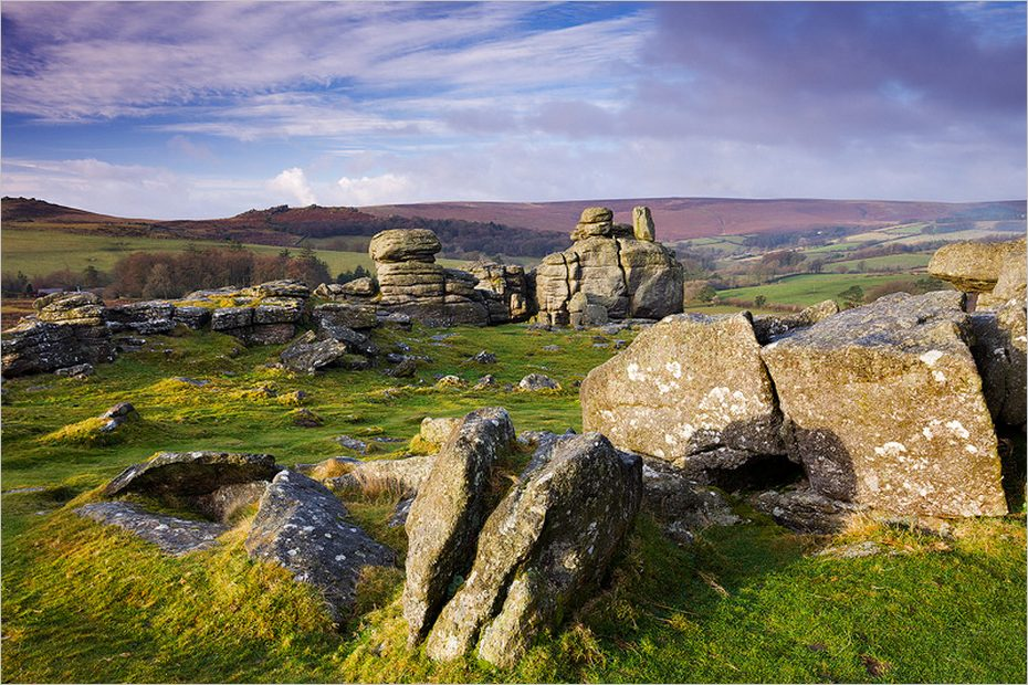 Le parc national du Dartmoor