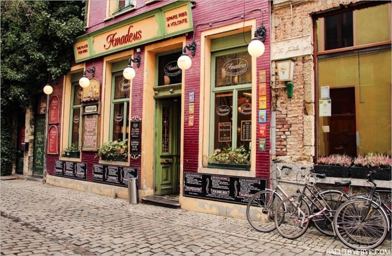 Le restaurant Amadeus à Gand, pour les amateurs de ribs