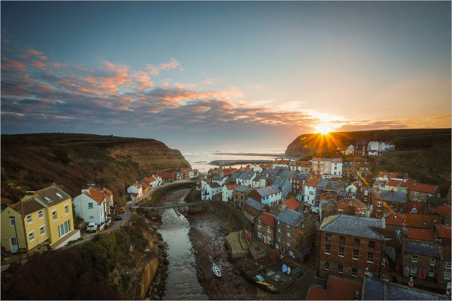 Staithes, dans le North Yorkshire