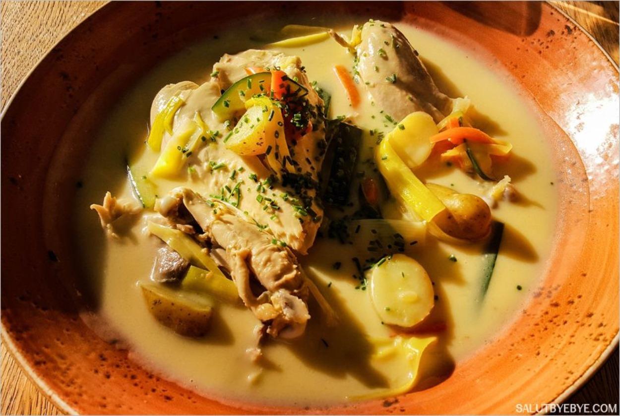Le waterzooi, un plat typique de Gand